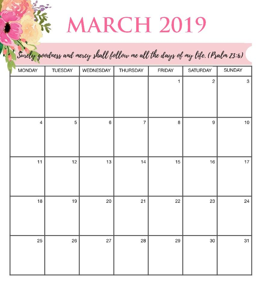 March 2020 Desk And Wall Calendar Calendar Printables Calendar