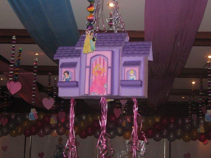 Decoraciones princesa disney en pinterest disney - Decoracion fiesta princesas disney ...