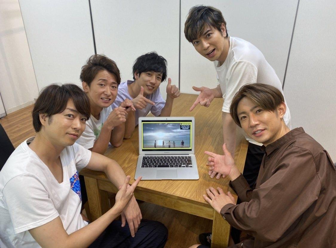 twitter 嵐 嵐5人 love 嵐