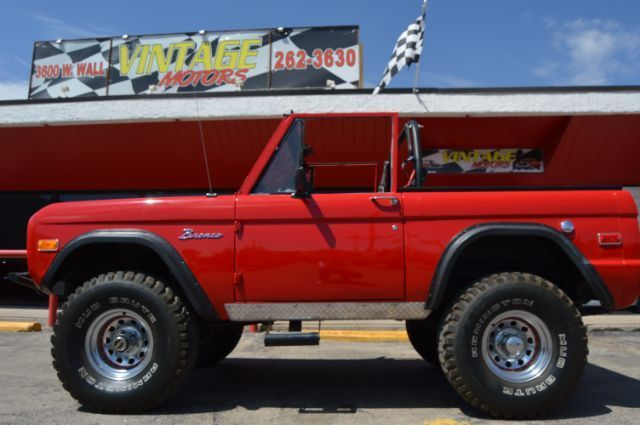 1970 Ford Bronco For Sale At Vintage Motors In Midland Texas Ford Bronco For Sale Ford Bronco Bronco