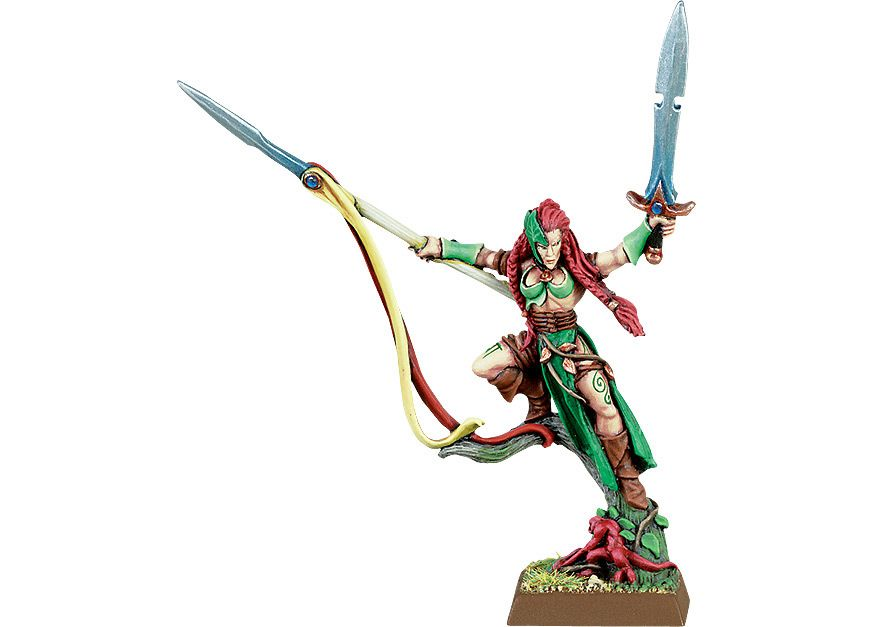 Wood Elf Wardancer Lord   Warhammer wood elves, Human body ...