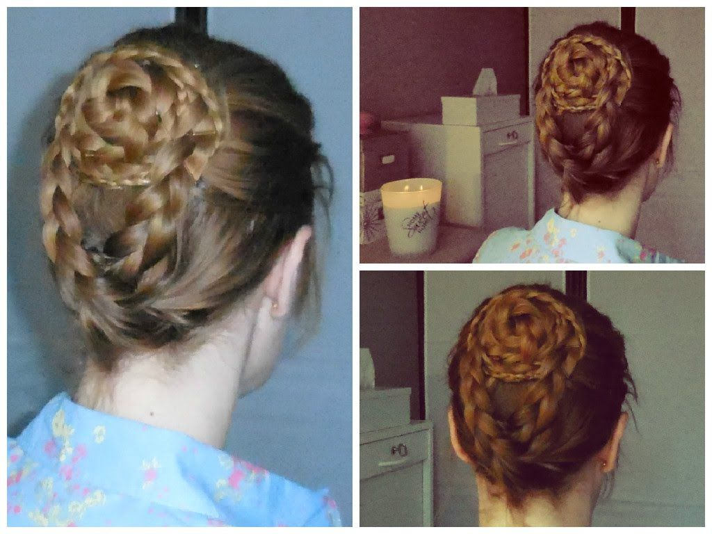 Chignon inspiration Game of Thrones / Celtic | Happy New Hair