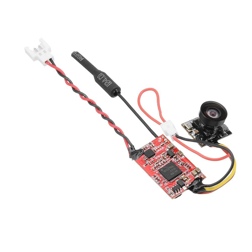 IDC-819H FPV 5.8G 0/25mW/200mW Switchable Audio Video Transmitter Integrated With 700TVL 120 Camera #audiovideo