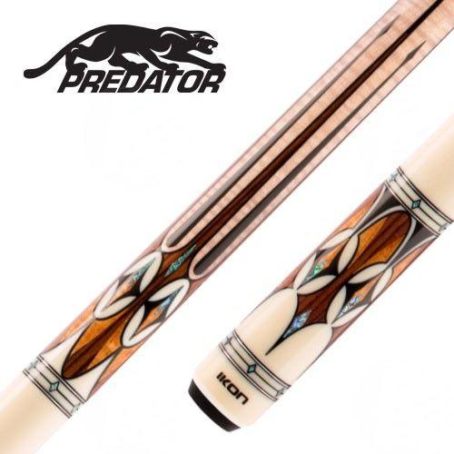 La queue de billard américain Predator Ikon35 est faite
