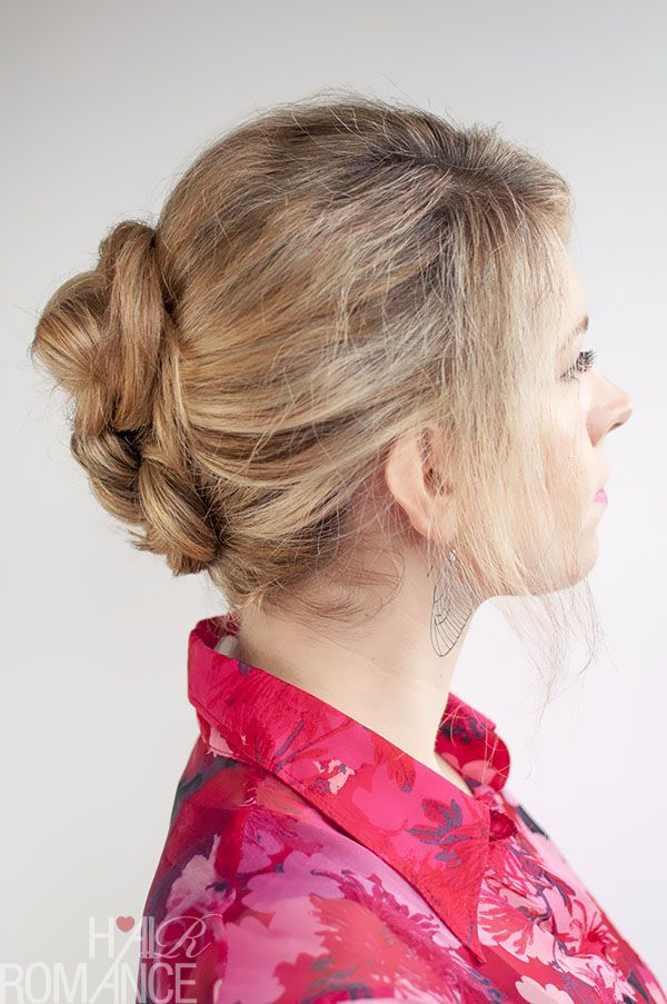 30 Buns in 30 Days - Day 14 - Double Braid Buns #braidedbuns