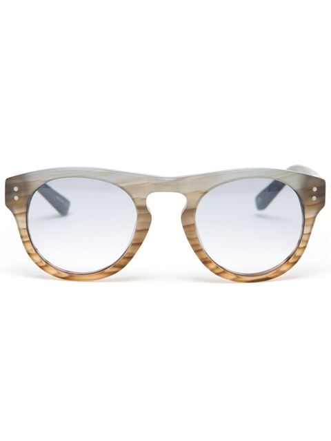 3.1 Phillip Lim 'frosted Typhoon' Acetate Sunglasses - Browns - Farfetch.com
