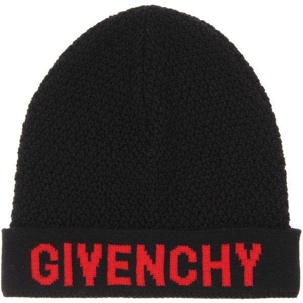 logo knit beanie - Black Givenchy iKZIrvV