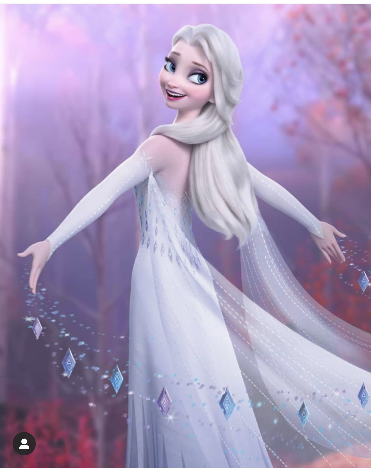 Elsa The Queen And Fifth Spirit Of The Enchanted Forest From Frozen 2 In 2020 Disney Princess Elsa Disney Queens Disney Princess Pictures