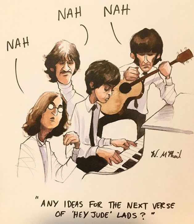 Jokes And Memes Only A Beatles Fan Would Get Book 2 Next Verse Beatles Funny Beatles Art The Beatles