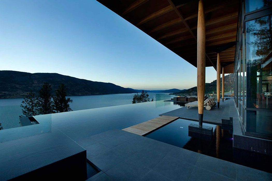 Infinity Pool Terrace Exceptional Hillside Home Overlooking - House cape town amazing infinity pool
