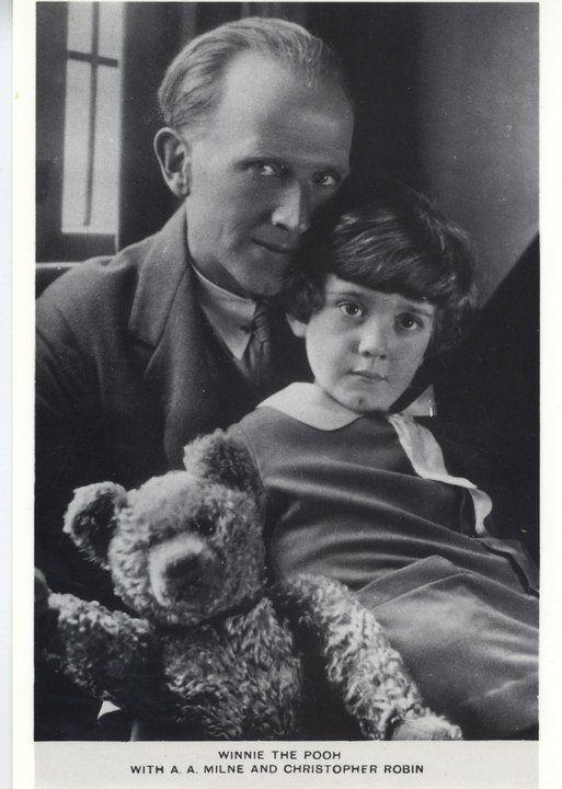 A.A. Milne & Christopher Robin