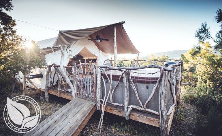 Genial Lovely Safari Cabin Tent Near Warner Springs, California