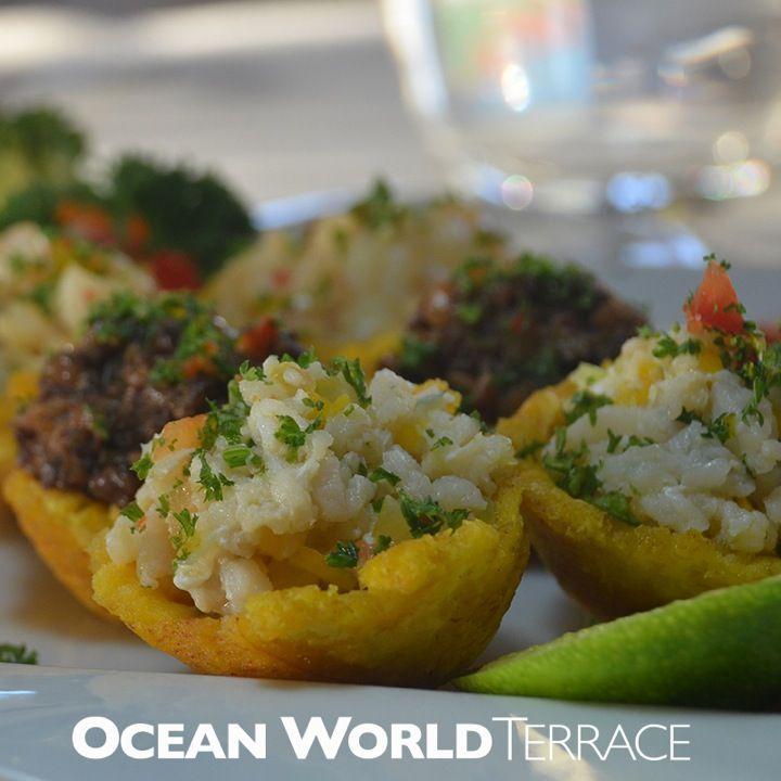 Ocean World Terrace Canastas De Platano Gourmet Y Canastas