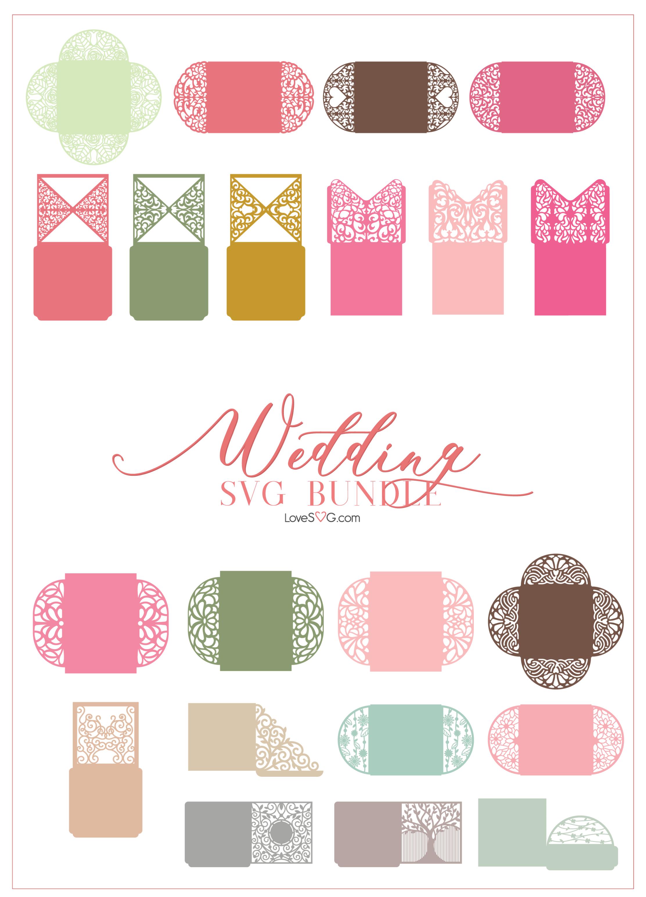 The Wedding SVG Bundle LoveSVG Preview (5) Cricut