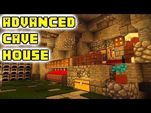 Minecraft Tutorial Advanced Cave House Build Youtube