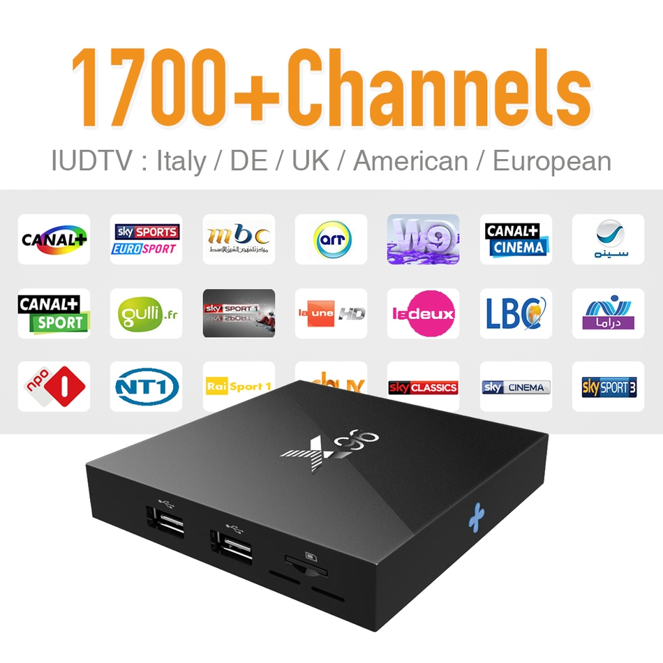 99.99 Watch here IPTV Europe Tv Box Android 6.0 & 1700