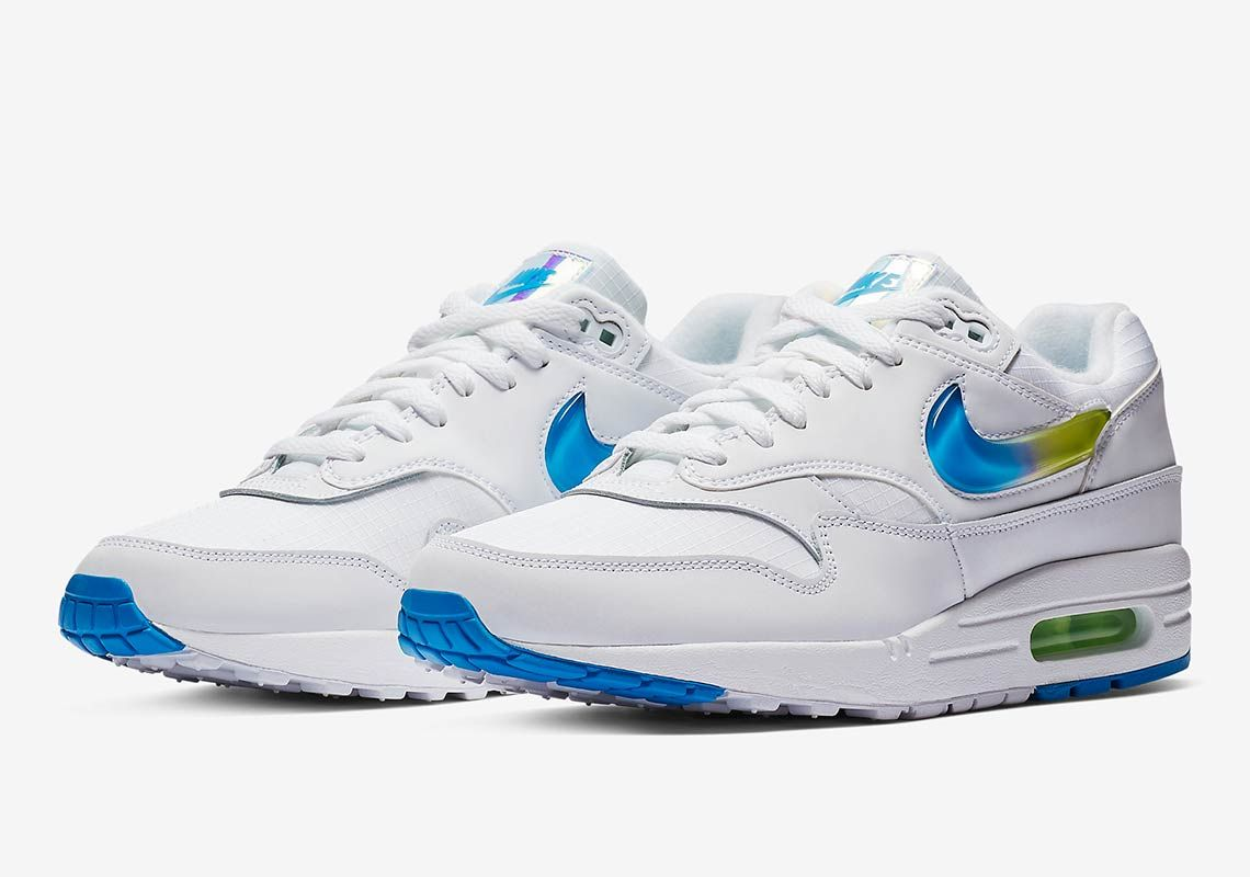official photos 7c7be 49bd7 Nike Adds The Jelly Jewel Swoosh To Another Air Max 1