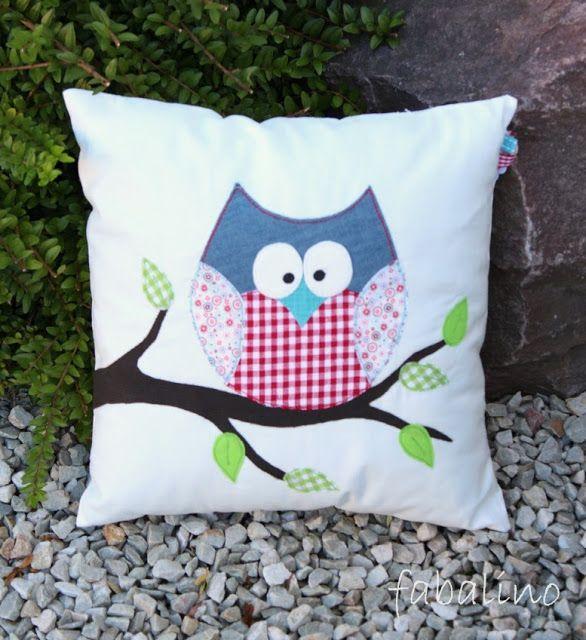 Fabalino: almohada búho