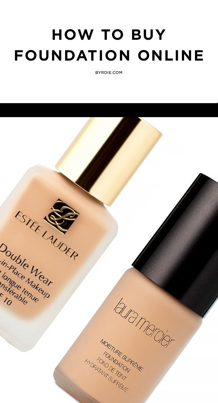 photo How to Shop for Foundation Online