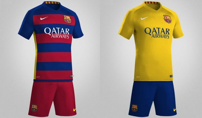 huge discount 94525 e3b00 barcelona away jersey 2014