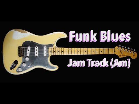 Backing track youtube blues