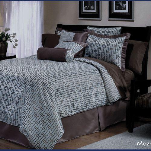 Found it at Wayfair - Maze 7 Piece Comforter Set