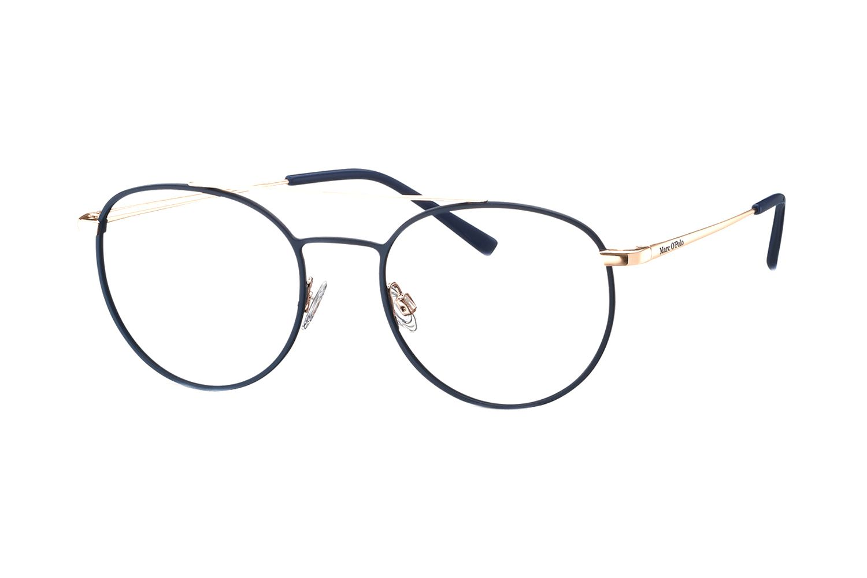 Marc O Polo 502140 70 Brille In Navy Matt Rosegold Brille Brillen Online Rosegold