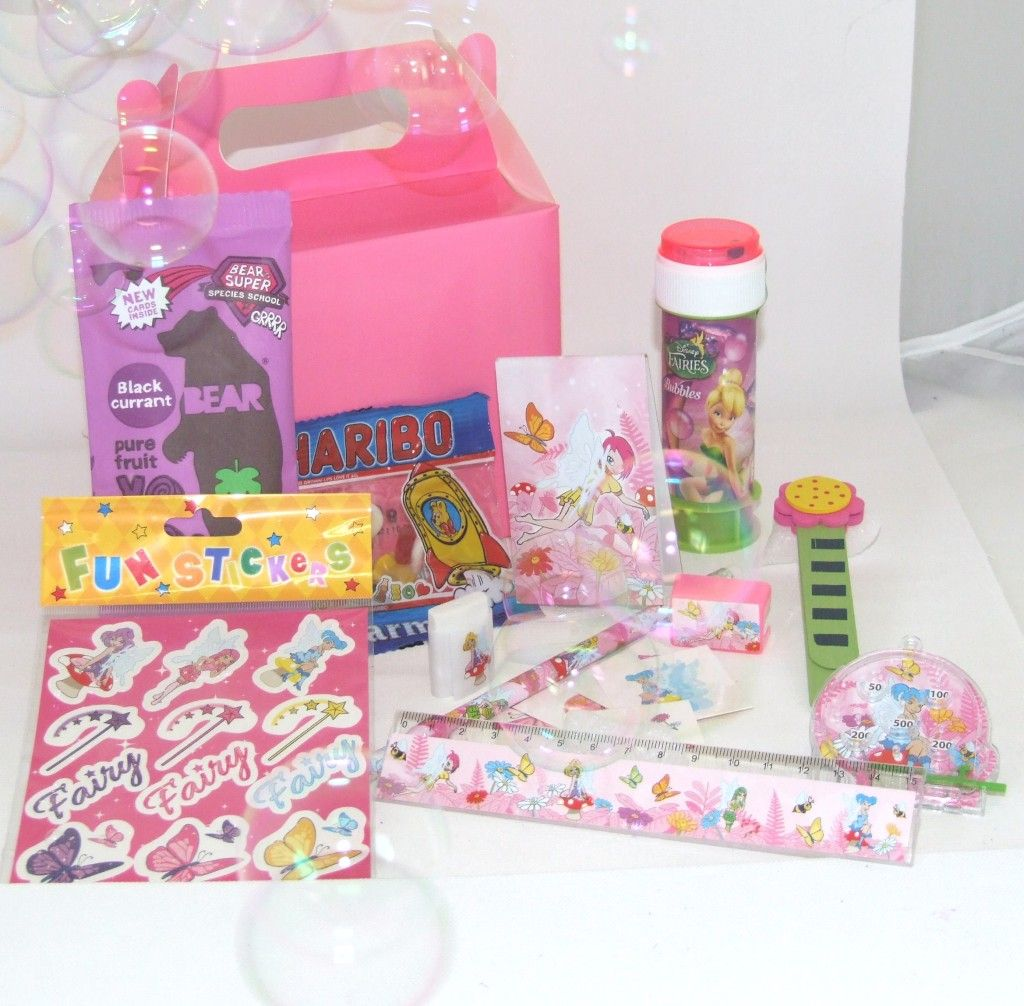 Fairy Luxury Wedding Activity Box | Kids wedding activity packs ...
