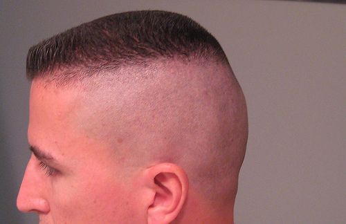 high and tight military fade