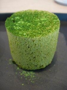 Mini angel-cake au Matcha