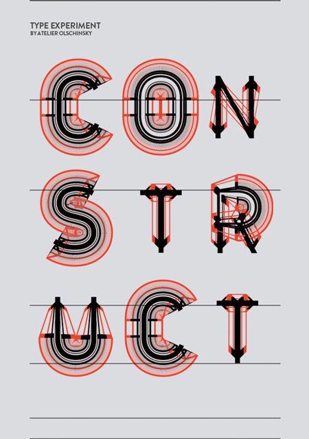 Type Construct-Atelier Olschinsky