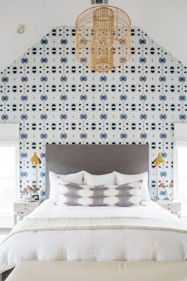 fototapete schlafzimmer schöne giebelwand Wandgestaltung - fototapete für schlafzimmer