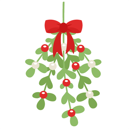 freebie of the day mistletoe mistletoe121615 freebie of the day rh pinterest com au mistletoe clipart transparent mistletoe images clip art