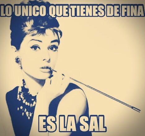Lo único que tienes de fina #memes #lafina