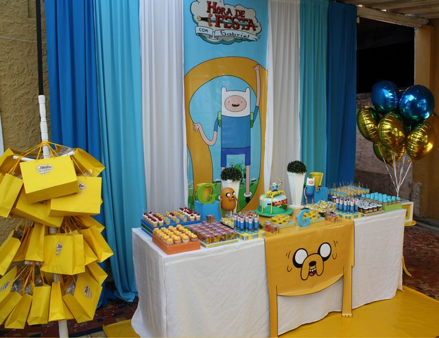 adventure time birthday party ideas let s party pinterest