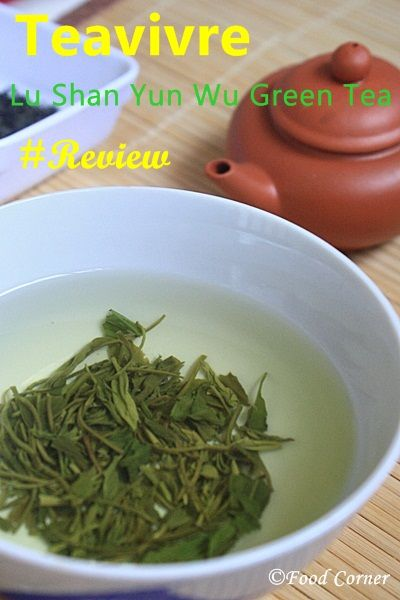 Teavivre Lu Shan Yun Wu Green Tea Review