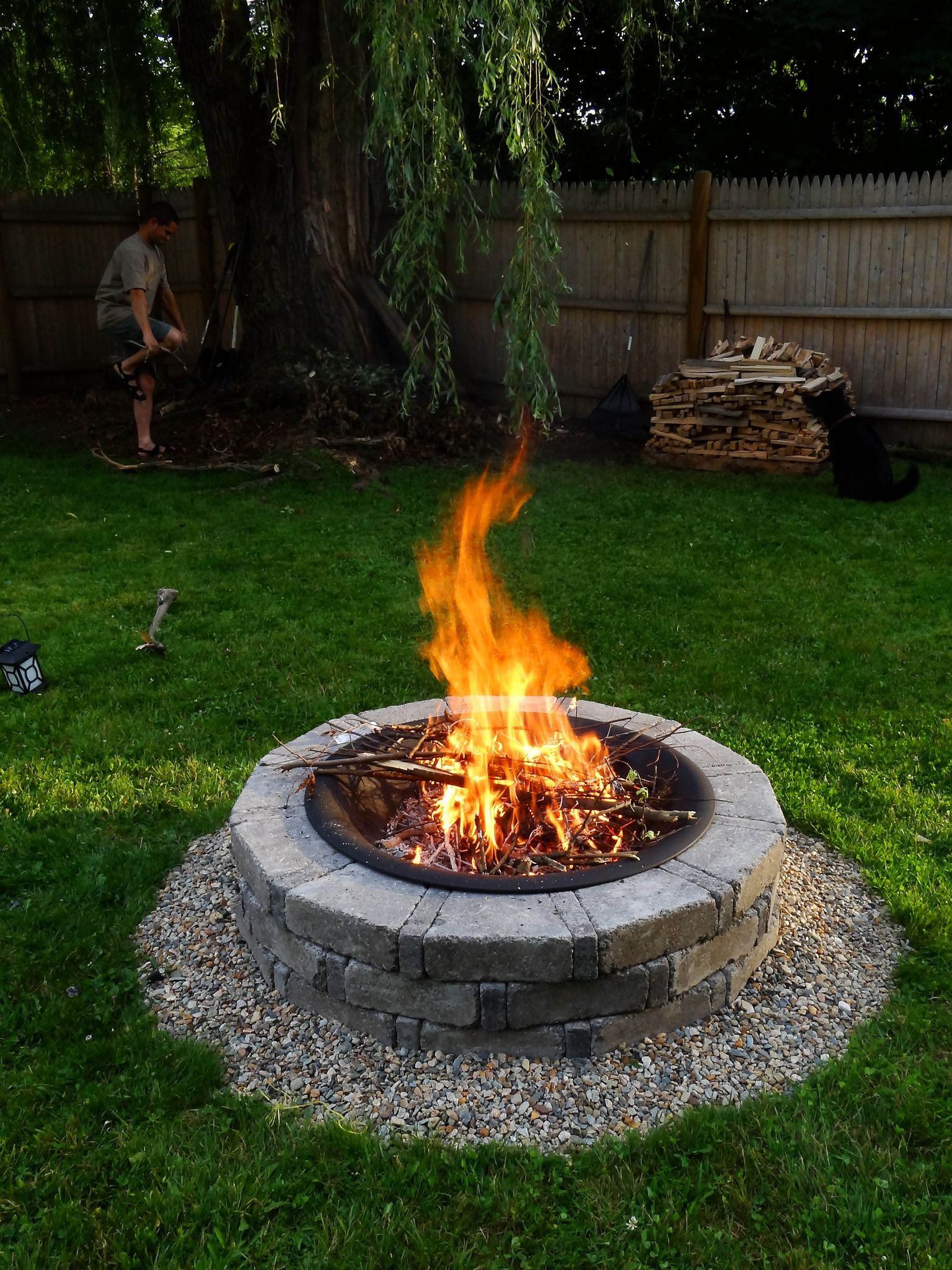 Small Fire Pit Patio Set: Fire Pit Decor, Fire Pit