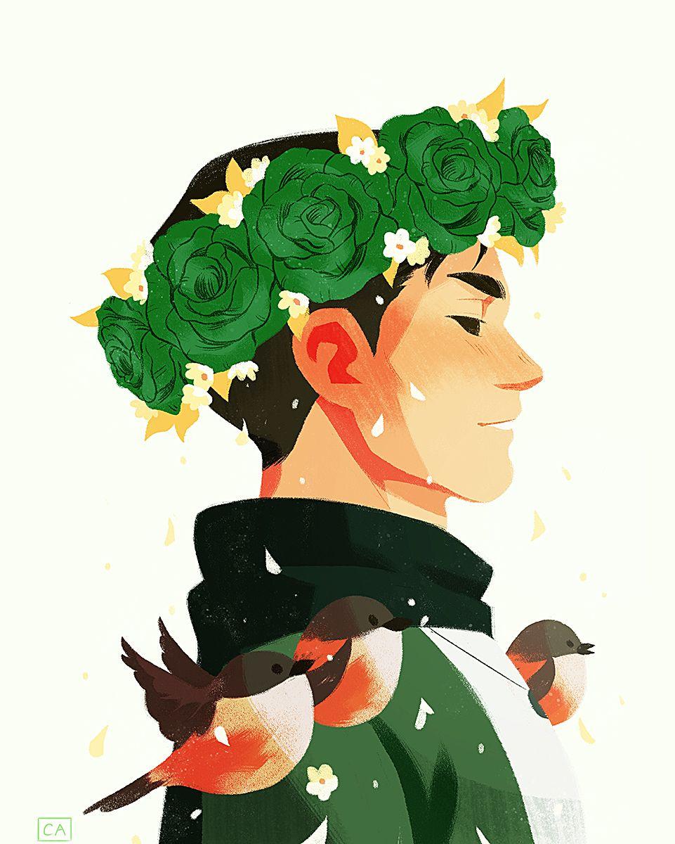 Flower Crowned