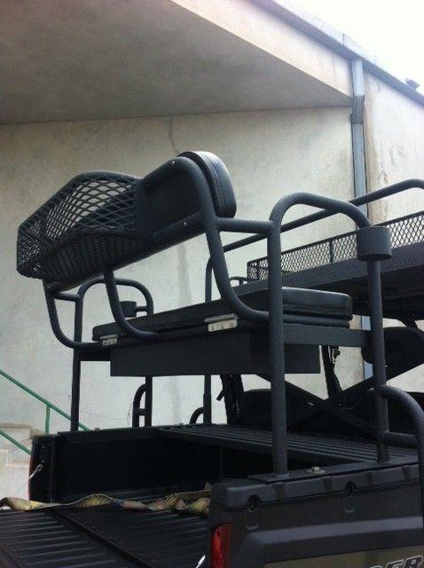 Aluminum Hunting High Seat For Your Utv Seat Storage Seating Polaris Ranger Accessories