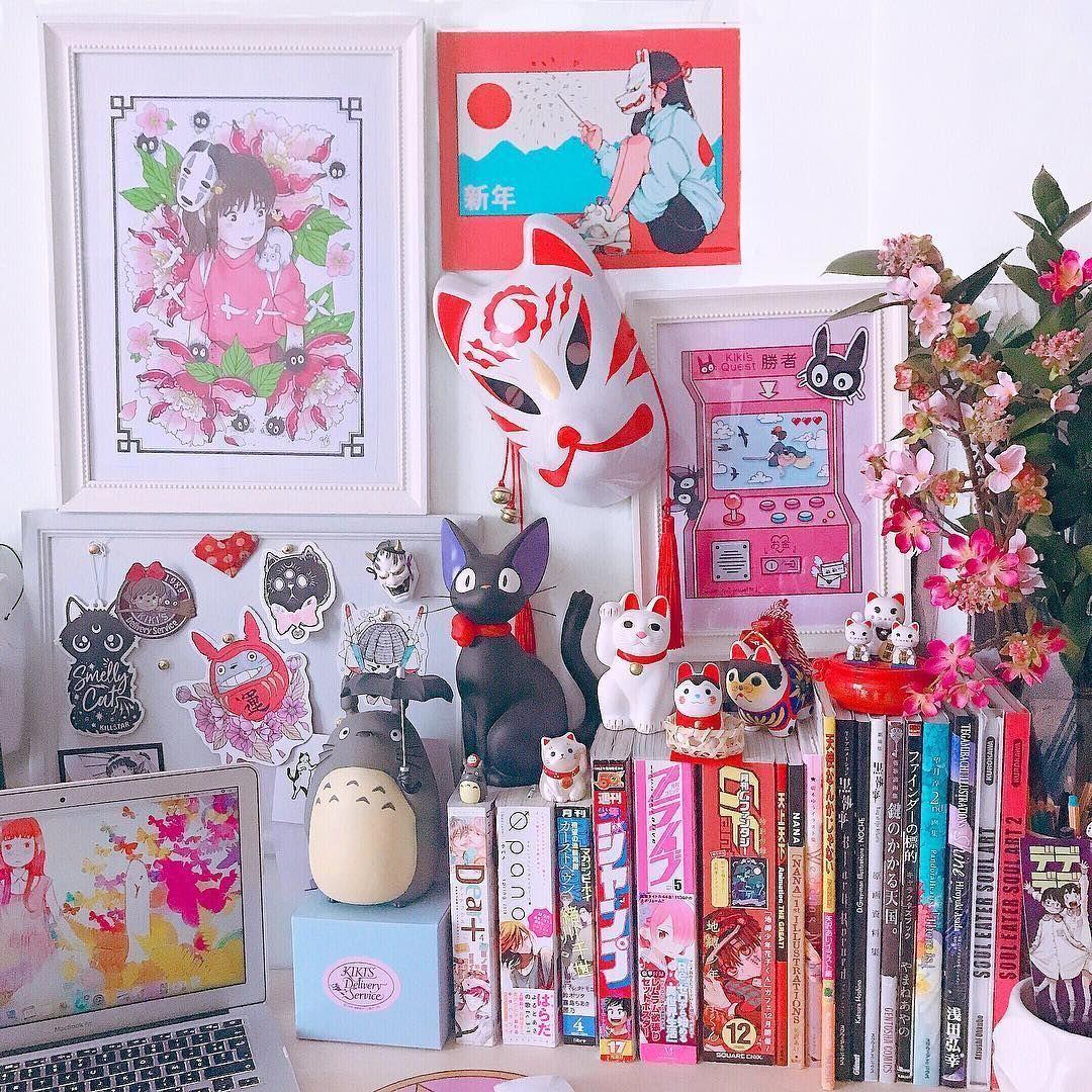 Aesthetic Anime Room Otaku Wallpaper