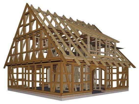 Haussuche Fuhrberger Fachwerkhaus Holzrahmen