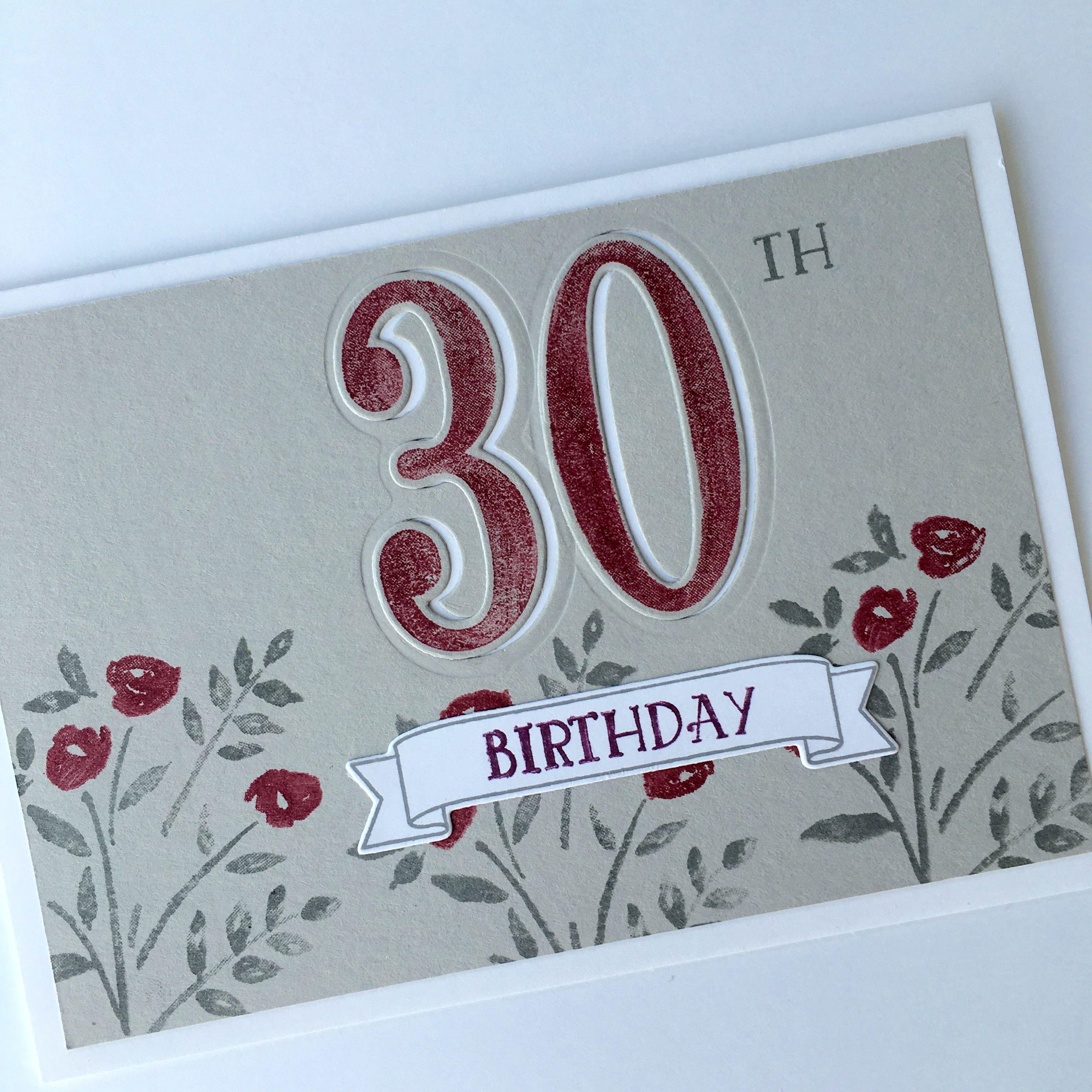 Card Making Ideas 30th Birthday Part - 22: Hand Made Original Cards U0026 Paper Craft