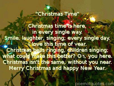 Poems About Christmas Time.Christmas Time Poem Believe In The Magic Of Christmas