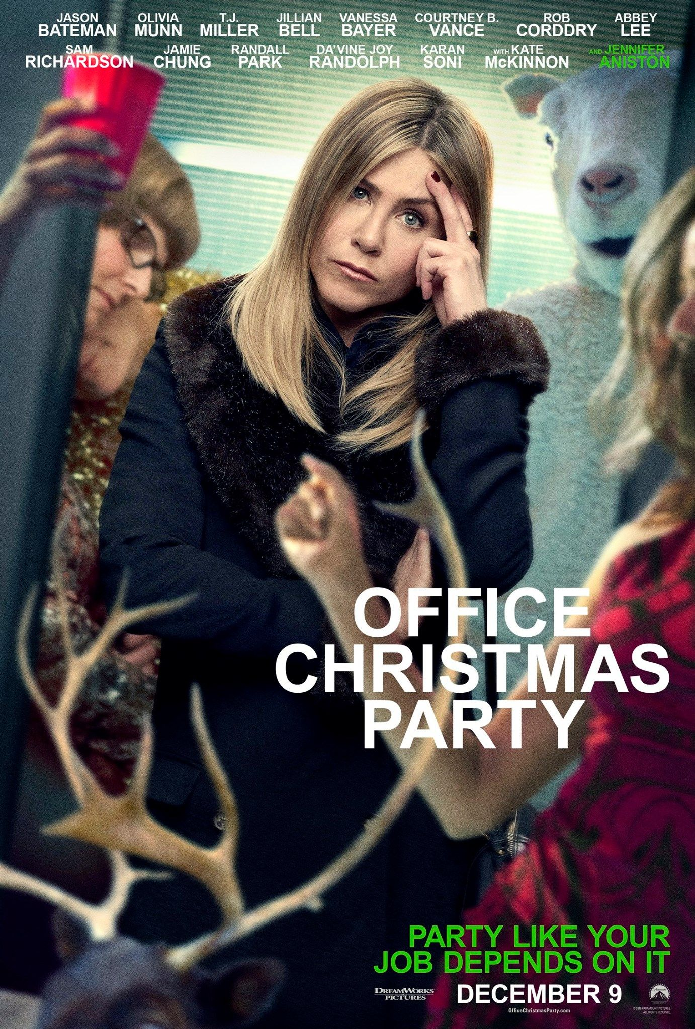 See Jennifer Aniston as Carol Vanstone in OFFICE CHRISTMAS PARTY
