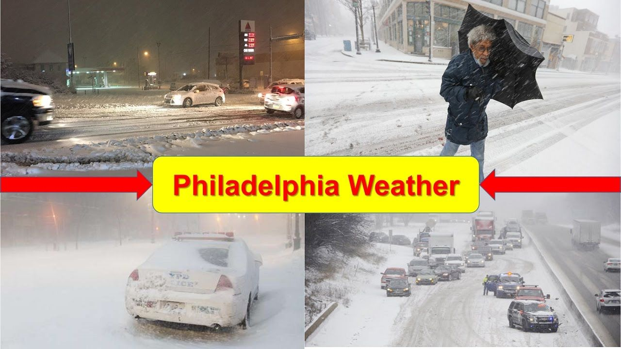 Philadelphia Weather | Snow What to Expect and When From the Nor'easter