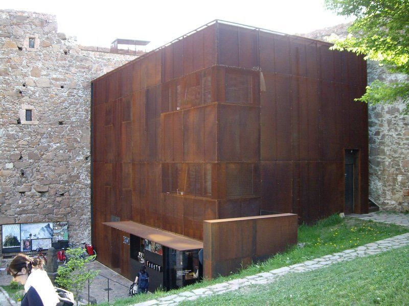 detail corten steel cladding architecture pinterest. Black Bedroom Furniture Sets. Home Design Ideas