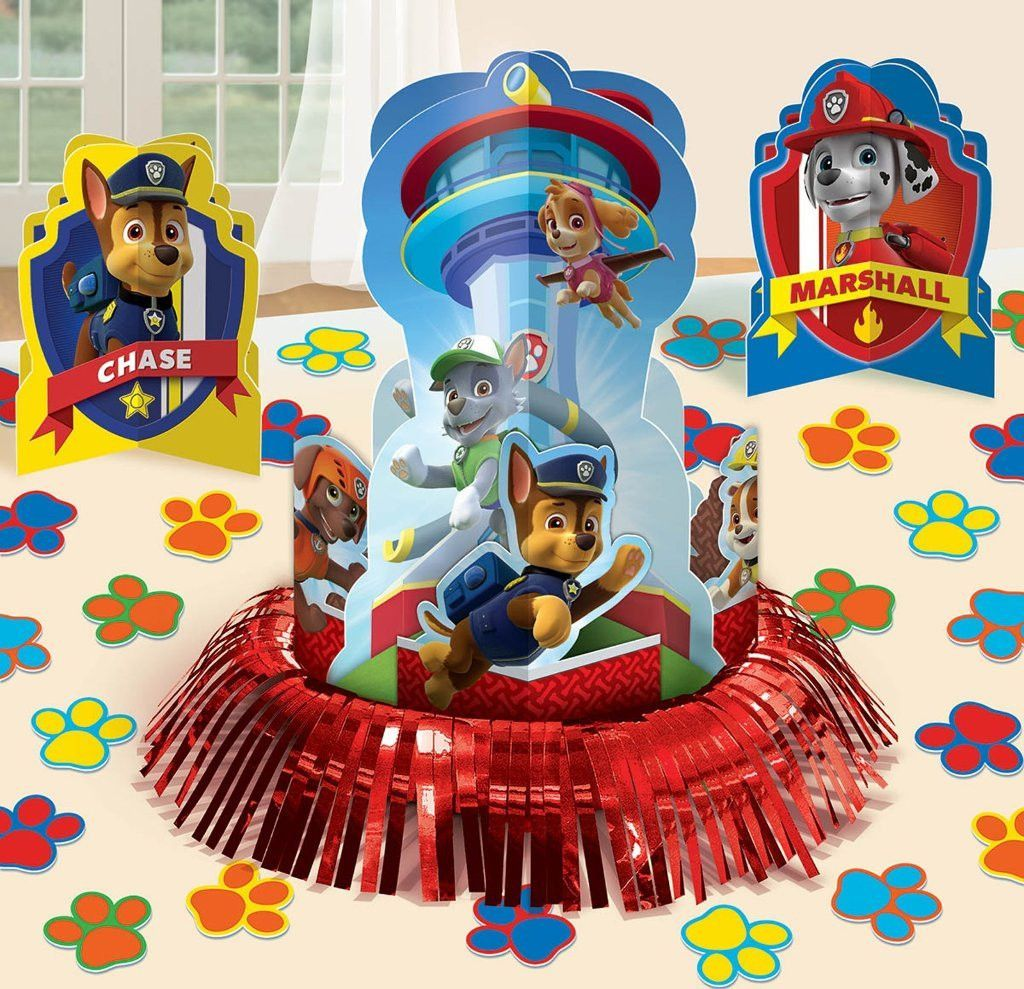 paw patrol table decorating kit Case of 5