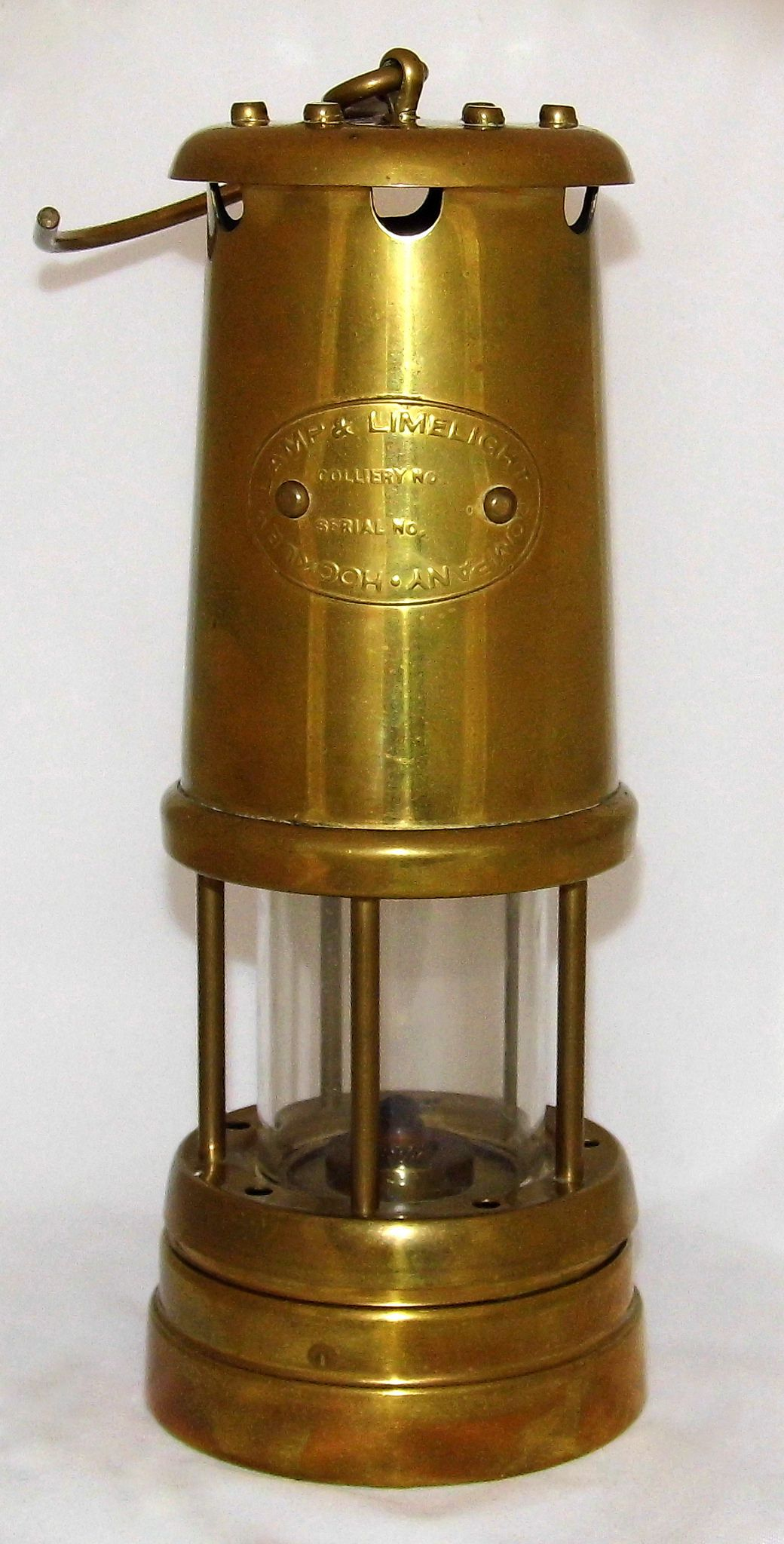 Vintage Brass Miner S Lantern By Hockley Lamp Limelight Company 8 5 Inches Tall Excluding Hanging Hook Old Lanterns Hockley Vintage Brass