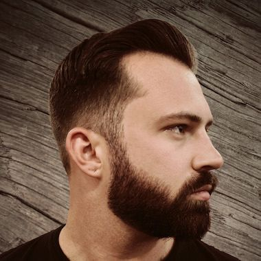 21 Beards For Men With A Round Face Shape Fade Haircut With