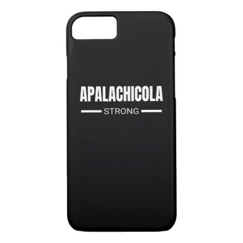 Apalachicola Strong Hurricane Michael Florida iPhone 8/7 Case  					 			  		 			 $33.90  			 by  PositiveAtmosphere